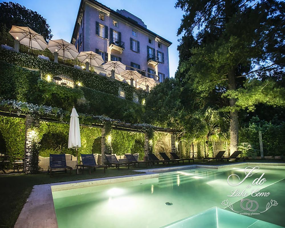 Villa Relais Vittoria wedding venue on lake Como